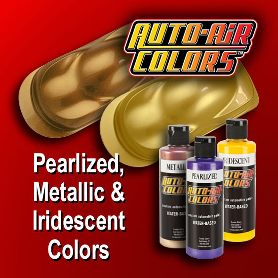 Auto-Air Airbrush Paint Reducers & Cleaners