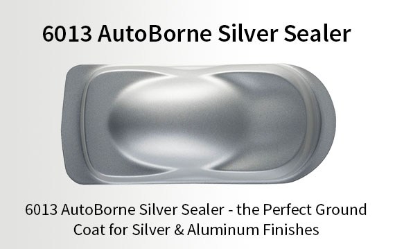 6013 AutoBorne Silver Sealer - the Perfect Ground Coat for Silver & Aluminum Finishes