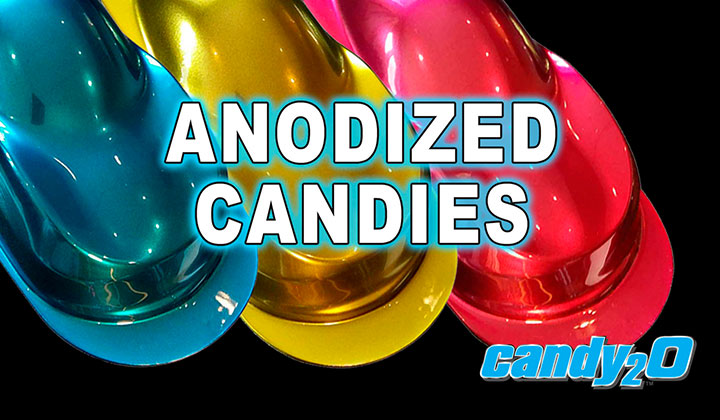 Auto-Air Colors - Anodized Candies
