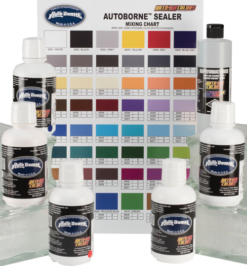 AutoBorne Sealers. Auto-Air Airbrush Paint