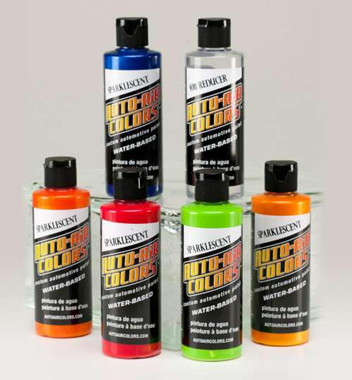 Auto Air Colors High Performance Water Based Custom Airbrush Paint By Createx Colors